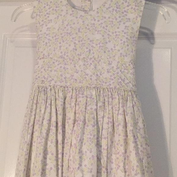 9b86349e46 Strasburg girls cotton long dress. M 5b8540601e2d2d9f48637479